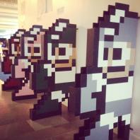 Mega Man-bokstöd i megaformat
